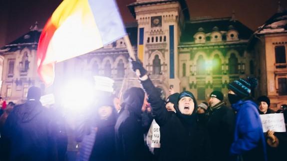 Protest amnistie si gratiere Craiova